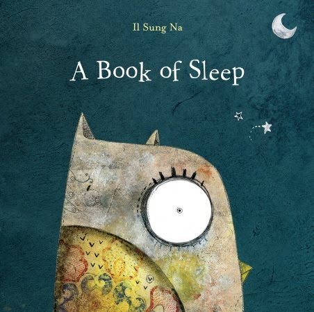 A Book of Sleep children's picture book cover art