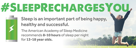 Sleep Recharges You Header Image