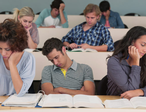 College students aren't getting nearly enough sleep